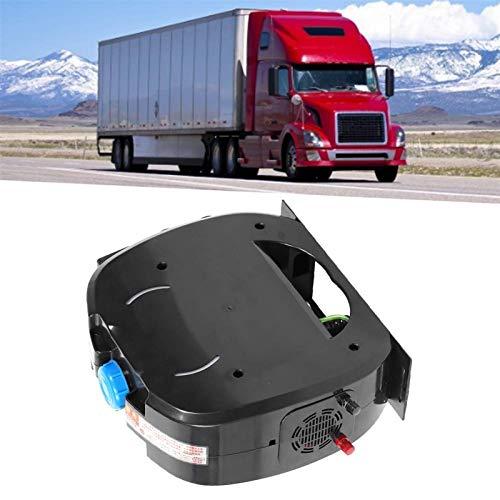 Raheem Calentador de calefacción de Calefactor de Calentador de Aire de Aire de camión Calentador de Noche 12V / 24V 4 Agujero Controlador LCD con Control Remoto para cabinas de calefacción