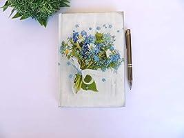 Agenda 2021 A5 Día Página, Planificador Anual, Floral Regalo de Navidad para Ella, Vista por Dìa, Tapa Dura, Diario,...