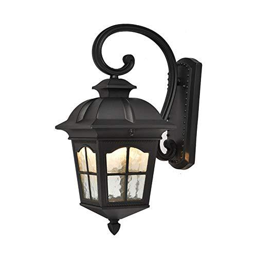 SSZZ wandlamp, waterdicht, voor buiten, antieke look, met poten, Europese stijl, duurzaam, geschikt voor Villa balkon, hal, enz.