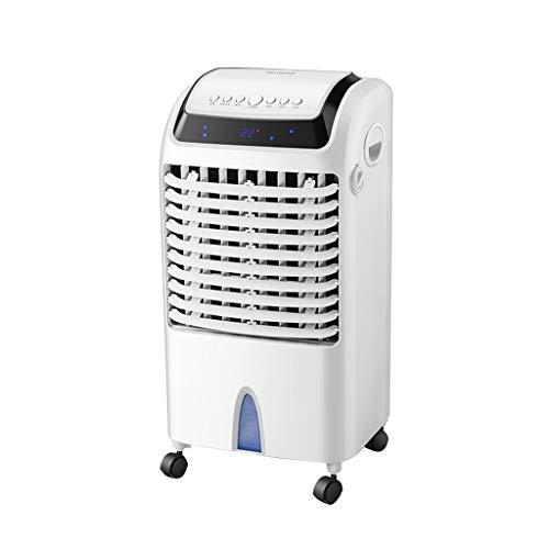 CYLQ 3-in-1 draagbare airconditioning met koeling, luchtbevochtiger, luchtreiniger, timer 12 uur, 3 snelheden van de ventilator, afstandsbediening, verdamper, mobiel kantoor thuis, wit