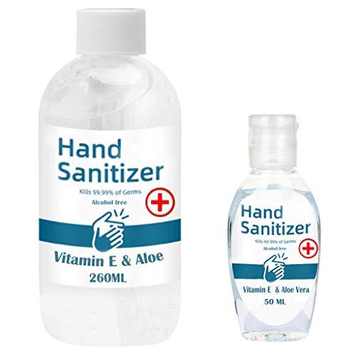 1 Stück, 50ml+260ml,Handwäsche, Mini Hand feuchtigkeitsspendendes Pflegewasser, gebrauchsfertig, keine Spülung