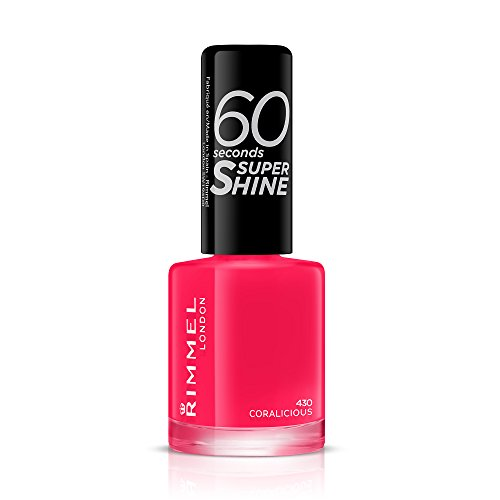 Rimmel London 60 Secons Super Shine nagellak, 8 ml Coralicious