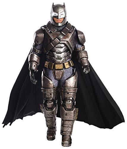 Rubie's Costume Men's Batman v Superman: Dawn of Justice Supreme Edition Armored Batman, Black, Standard
