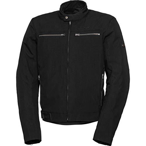 Spirit Motors Motorradjacke mit Protektoren Motorrad Jacke Klassik Textiljacke 3.0 schwarz XXL, Herren, Chopper/Cruiser, Ganzjährig
