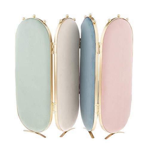Sharplace Pantalla de joyería Estante de exhibición Pendientes espárragos Collares Colgante Soporte Organizador decoración de Escritorio