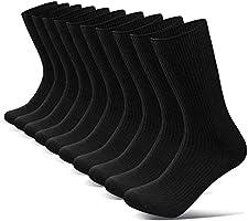 【強化版】靴下 メンズ ビジネス 男性 ソックス 耐久 抗菌防臭 吸汗 通気抜群 四季適用 ギフトボックス 出張 蒸れない 破れにくい 高級 綿 24-28㎝ リブ柄