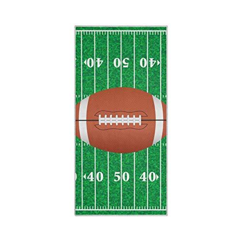 RELEESSS American Football Rugby Handtücher, weiche Mikrofaser, schnell trocknend, Handtuch für Zuhause, Badezimmer, Küche, Reisen, Sport, Fitnessstudio, Yoga, Spa, Mehrzwecknutzung