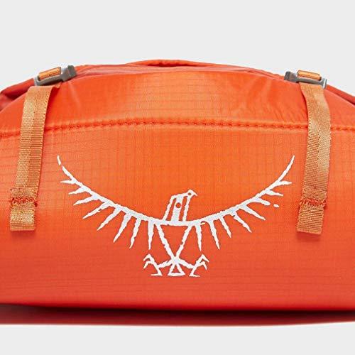 Osprey Orange Ultralight Washbag Padded Travel Accessory, Orange, One Size