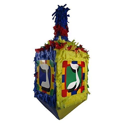 Pinatas Hanukkah Dreidel, Chanukah Party Game and Decoration, 25' H