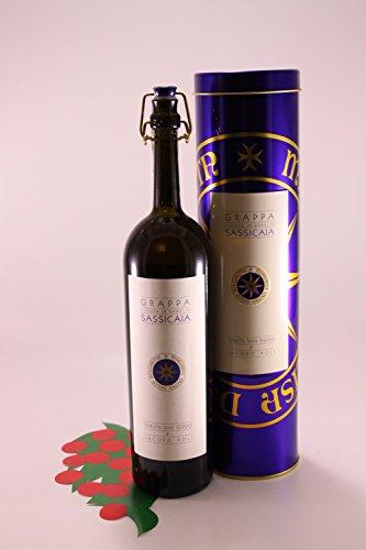 Grappa di Sassicaia Riserva 40 % 50 cl. - Brennerei Poli Jacopo