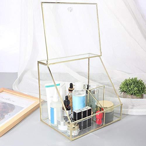 Soporte cosmético Organizador de maquillaje transparente de moda para salón para dormitorio para escritorio para lápiz labial y más para pinceles