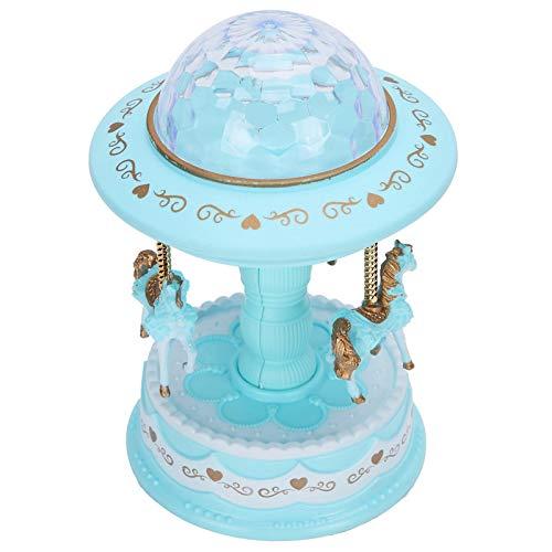 Sharainn Caja de música Colorida, lámpara de decoración del hogar con lámpara...