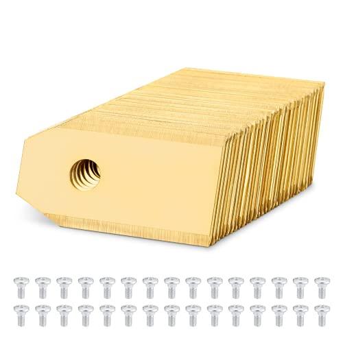 Titan Messer Klingen, Mähroboter Ersatzmesser geeignet für alle Husqvarna® Automower®/ Gardena® Mähroboter-(3g-0,75mm)+30 Schrauben-Diese Rasenmäher Klingen passen 105,310,315,320,420,430x,r40i uvm