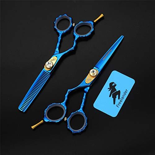Best Price Hairdressing Scissors 5.5 Inch Set Left Hand Scissors Flat Cut Thinning Thinning Thin Mul...