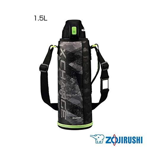 驚きの保冷力でサビに強いステンレスクールボトル1.5Lサイズ 象印 ステンレスクールボトル 1.5L ライムグレー(HG) SD-FB15 〈簡易梱包