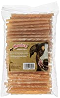 Value Pack of 100 Twists 12.5cm long High Quality Natural Rawhide High in Protein Helps to keep your dogs teeth clean Low fat content