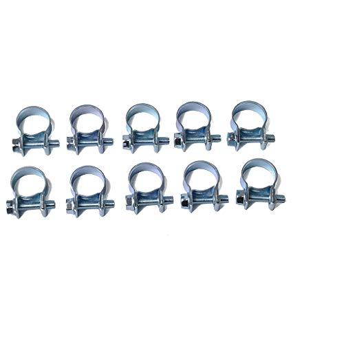 Elenxs 10 PCS/Set 7-9 mm de inyección de Combustible Abrazadera Abrazaderas de Manguera Manguera de Aire Pinzas Surtido Kit Diesel Gasolina Pipe