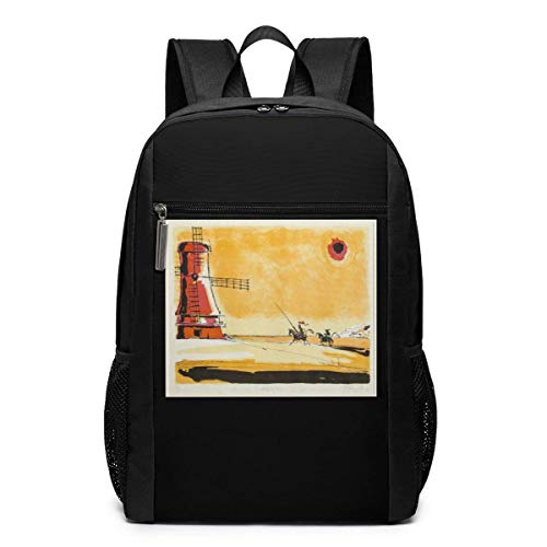 zhanghaichangT Picasso Don Quixote Student Laptop-Rucksack College Youth School Bag Travel Backpack for Men&Women 17 Inch
