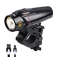 WESTBIKINGバイクライトセット無電極ランプUSB充電式ランプMTBロード自転車フロント/リアランプ