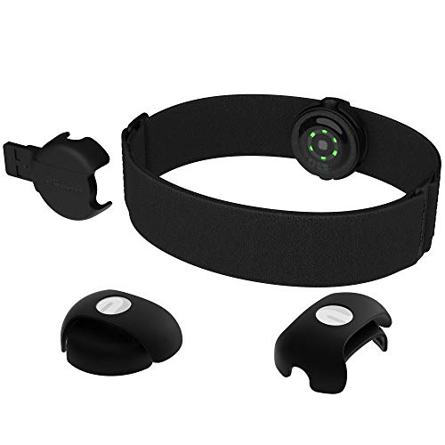 POLAR OH1+ Optical Heart Rate Sensor, Bluetooth/ANT+, Black