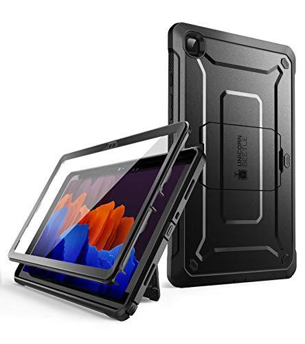 SUPCASE Hülle für Samsung Galaxy Tab A7 10.4 Zoll 2020 Schutzhülle 360 Grad Hülle Robust Cover [Unicorn Beetle Pro] mit Bildschirmschutz, Ständer, Schwarz