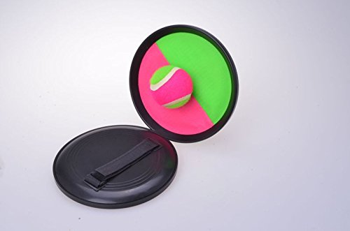 Gravidus Klettballspiel Grün / Pink