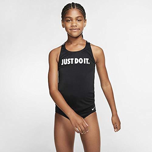 Nike Crossback Tankini für Mädchen M schwarz