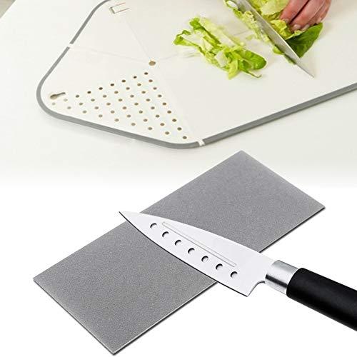 Square Whetstone, con coltello da cucina in metallo coltello da cucina coltello da cucina affilatrice