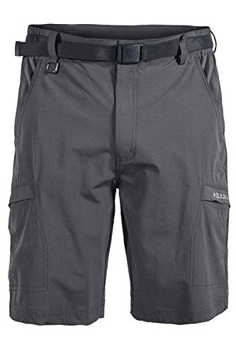 Mr.Stream Men's Hiking Loose Quick Drying Outdoor Fitness Sports Active Cargo Multi Pocket Shorts 2XL Gray