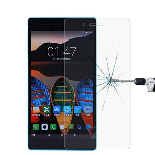 HUANGPUJIAN Teléfono Carcasas Para Lenovo Tab3 730M 0.3mm 9H Dureza superficial de vidrio templado Protector de pantalla