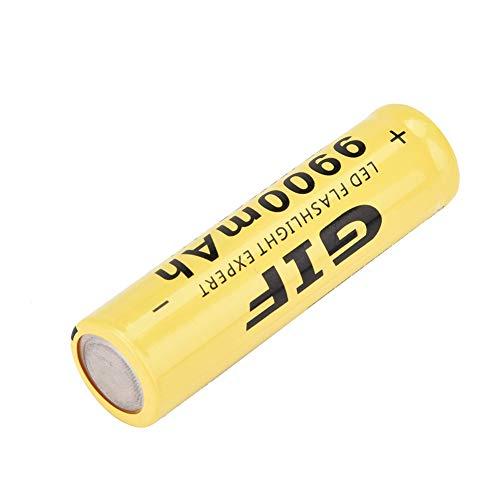 Batería recargable 18650, batería recargable de iones de litio 18650 3.7v Batería de litio de 9900mAh con tapa plana para faro para linterna
