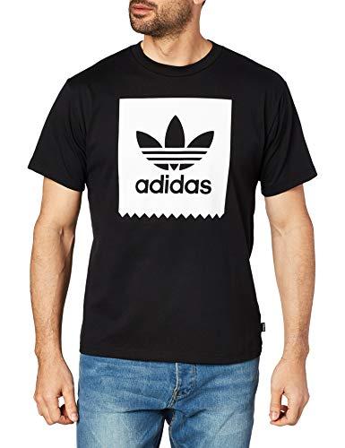 adidas Solid BB Skateboarding T-Shirt Nero/Bianco XXL