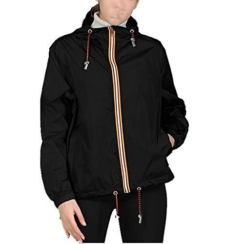 Primavera y verano señoras casual con capucha chaqueta de mujer corta suelta chaqueta