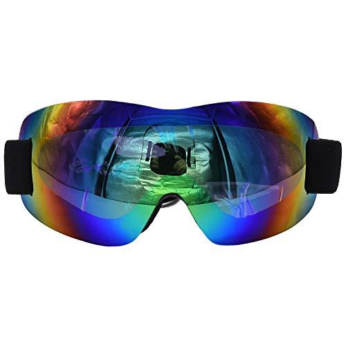 SENDILI Skibrille - Unisex Rahmenlos Snowmobile Skibrillen Schutzbrille Motorradbrillen Schneebrille Radsportbrille(Grün),Imitiertes grün
