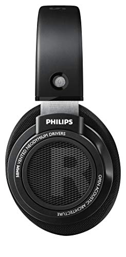 Side view of Philips Audio Philips SHP9500