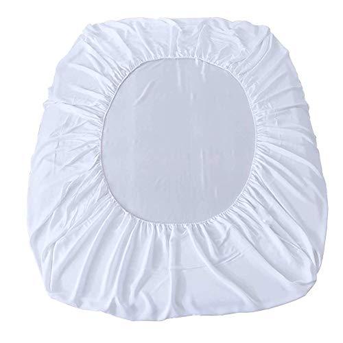 lynn Protector de cama de poliéster impermeable 80 x 200 x 30 cm