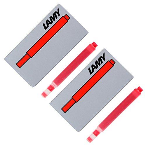 Lamy pluma estilográfica cartuchos de tinta, pack de 10