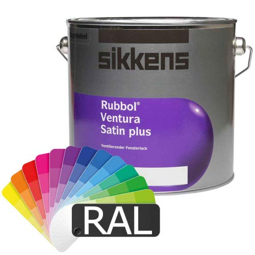 Sikkens Rubbol Ventura Satin Plus (RAL-Farben) 2,5l - Fensterlack Ventilationslack