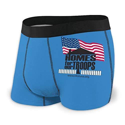 Nuwcense - Calzoncillos para hombre, calzoncillos ajustados, para nuestros troncos, ropa interior de secado rápido