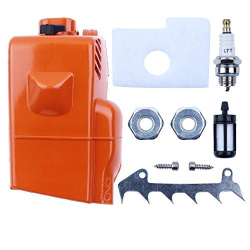 Haishine Top-Motor Leichentuch Zylinder Luftfilterdeckel für Stihl 018 MS180 MS 170 180 Kettensäge Ersatzteile