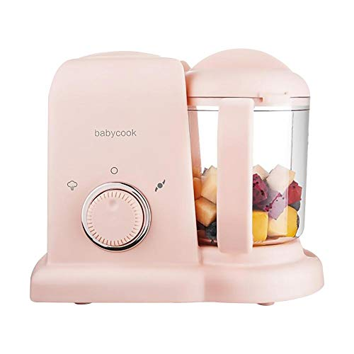rethyrel Mini Food Chopper Automatische kleine Küchenmaschine mit Verstellbarkeit Elektrische Küchenmaschine für Babynahrung oder anderes Gemüse 20x23cm