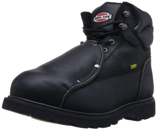 Iron Age Men's Ground Breaker IA5016 Work Boot,Black,7 W US