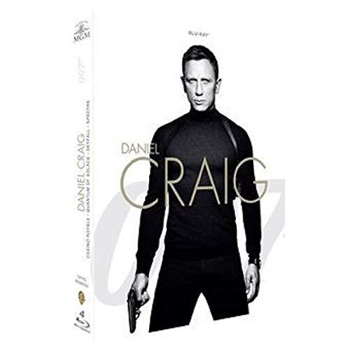 James Bond 007 - La collection Daniel Craig : Casino Royale + Quantum of Solace + Skyfall + Spectre [Francia] [Blu-ray]