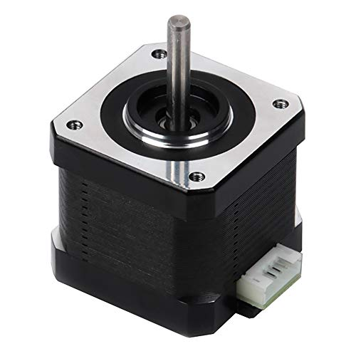 FYSETC 3D Printer Motors Nema 17 Stepper Motor 42-34 Motor 1.8 Stepper Angle 1.5A 2 Phase Body 4-Lead with 39.3inch Cable for 3D Printer Extruder Reprap Makerbot CNC CR-10 10S Ender 3/ Pro Ender 5