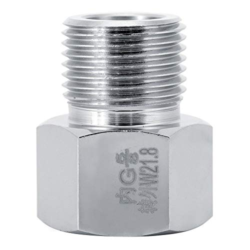 Combort Adaptador de Cilindro 4 tamaños Adaptador convertidor de Conector de Cilindro para Acuario Regulador de CO2 Equipo de Tanque de Peces(1#)