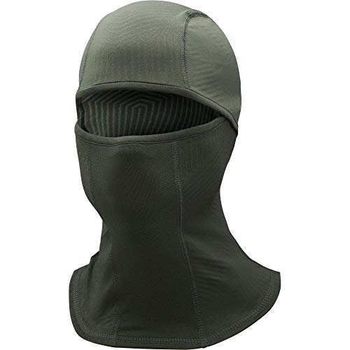 Under Armour Men's ColdGear Infrared Balaclava, Artillery Green (357)/Black, One Size Fits All