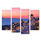 Bild auf Leinwand Wunderschöner Sonnenuntergang in
