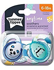 Tommee Tippee - 43336481 Anytime Soothers, Pack of 1, assorted color
