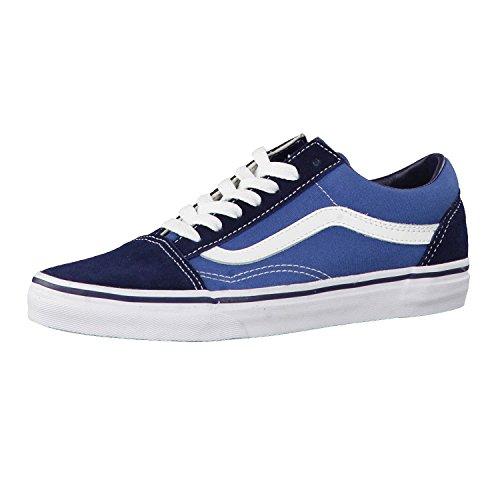 VANS Unisex-Erwachsene Old Skool Sneakers, Colour is Blue (Navy), 46 EU