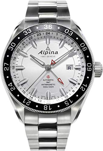 Alpina Geneve Alpiner GMT 4 Reloj Automático para hombres Segundo Huso Horario